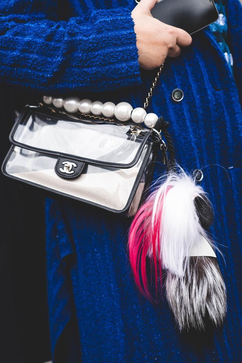 '샤넬 풀착'으로 가득찬 칼 라거펠트의 마지막 샤넬 쇼 현장 들여다보기 스트리트스냅 파리 패션위크