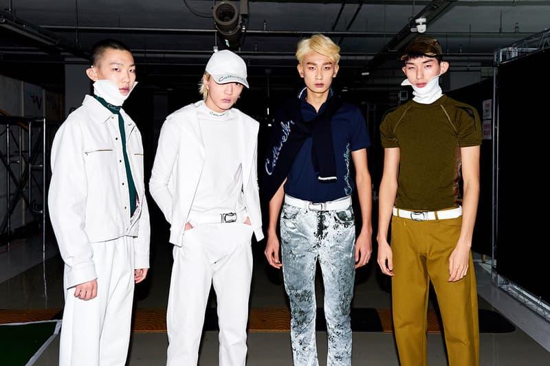 코트와일러 2019 가을 겨울 서울 패션위크 쇼 백스테이지