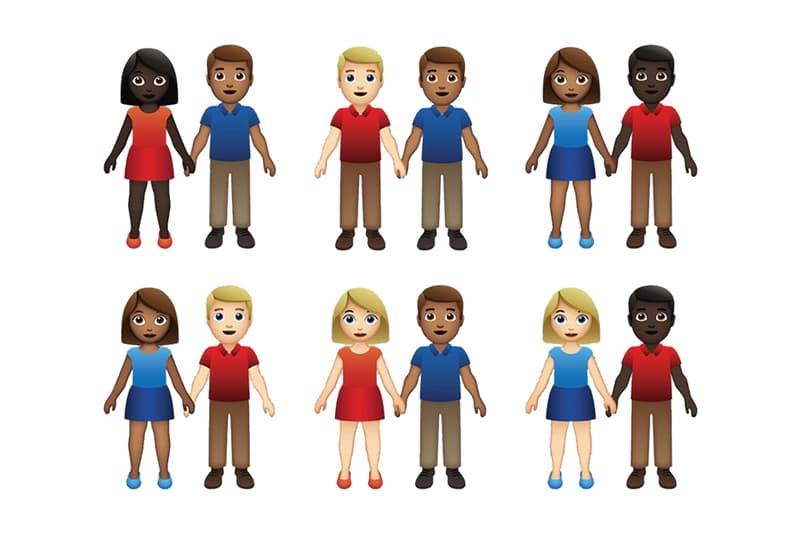 성별과 인종의 다양성을 반영한 '커플 이모지'가 추가된다