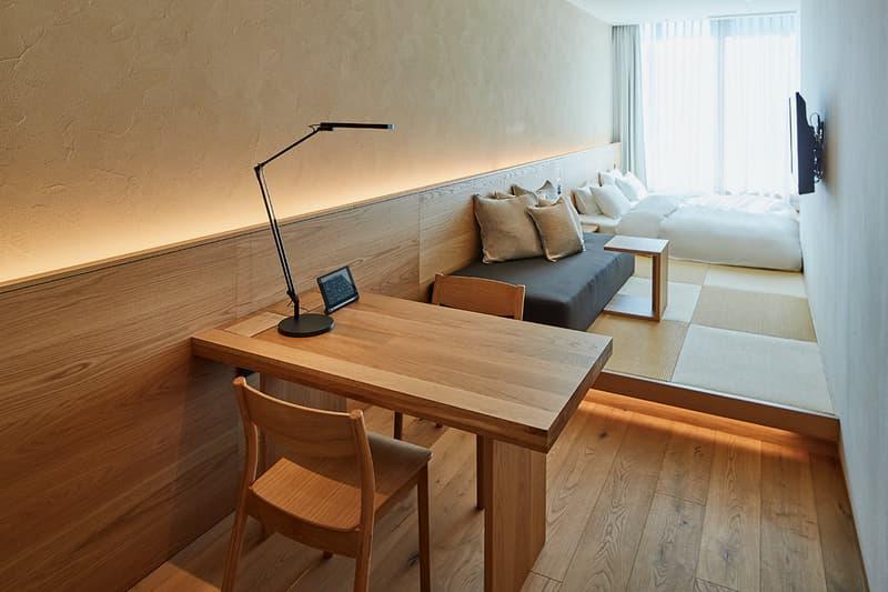 무지 무인양품 호텔 긴자 도쿄 오픈 객실 상세사진
