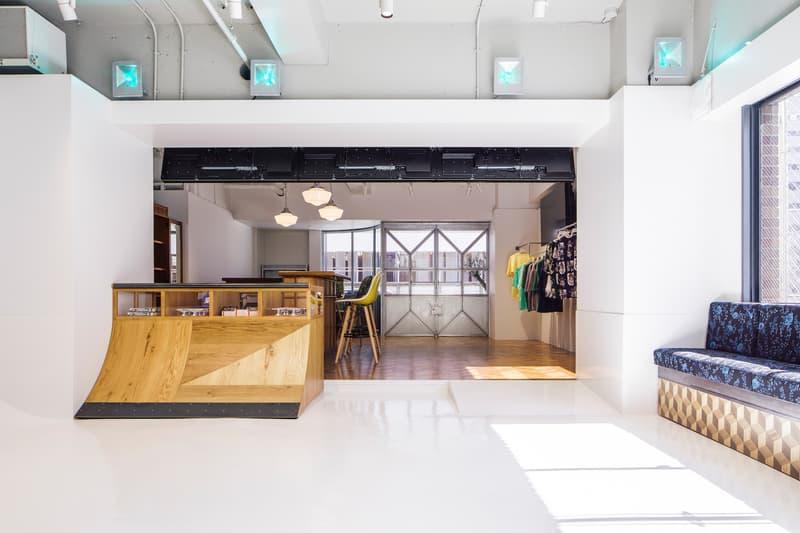 프라그먼트 디자인과 협업한 새 도쿄 스케이트 숍 2019 큐콘