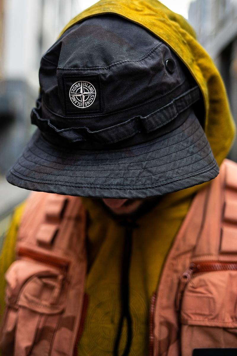 슈프림 x 스톤 아일랜드 2019 SS 컬렉션 실제 착용 화보