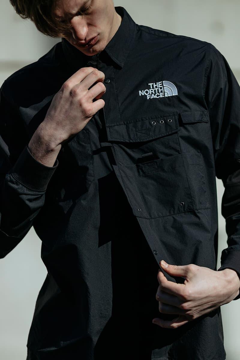 헤이븐의 노스페이스 블랙 시리즈 x 카즈키 쿠라이시 협업 화보
