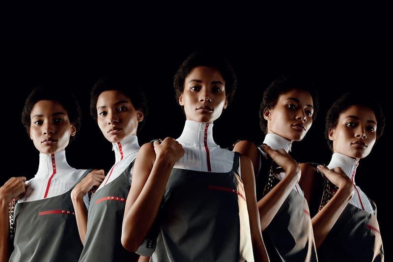 복고풍 레트로 프라다 리니아로사  SS 2019 캠페인 보기
