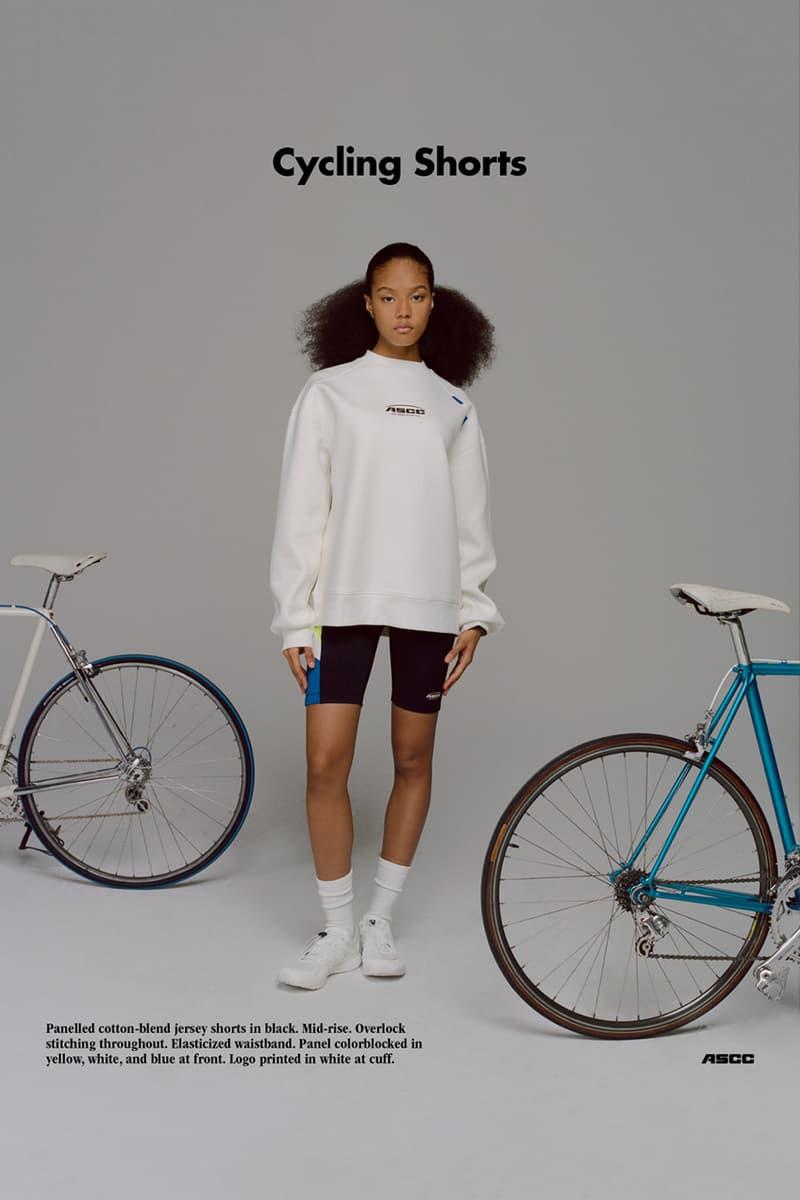 아더 에러 x 에센스 '아더 센스 사이클링 클럽' 캡슐 룩북 2019