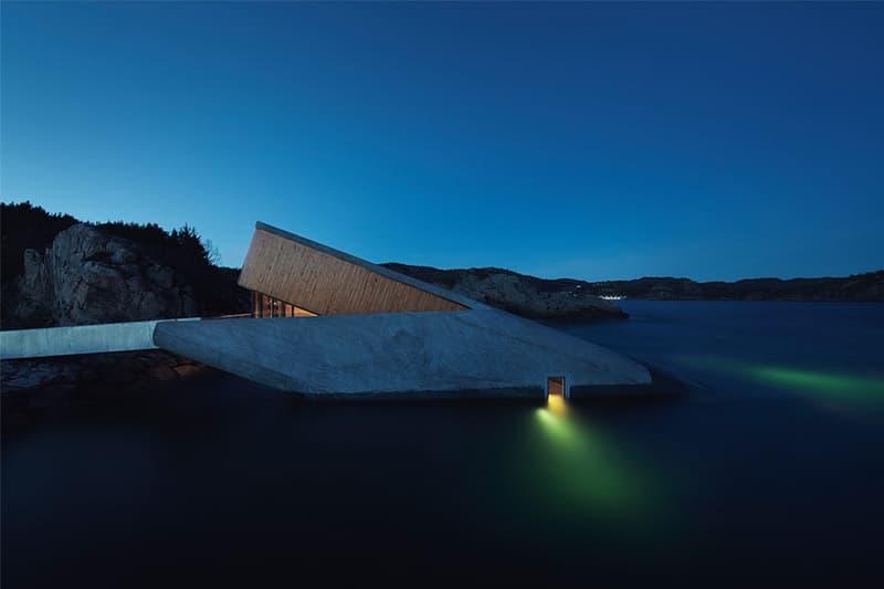 바닷속 5m에서 즐기는 만찬? 유럽 최초의 해저 레스토랑 '언더' 2019 스뇌헤타