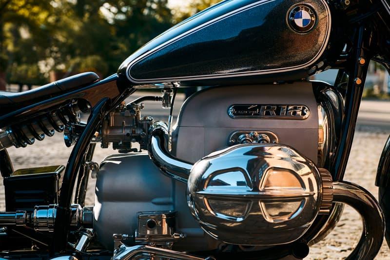 1960년대 빈티지 모터바이크 BMW 모토라드 '콘셉트 R18' 공개
