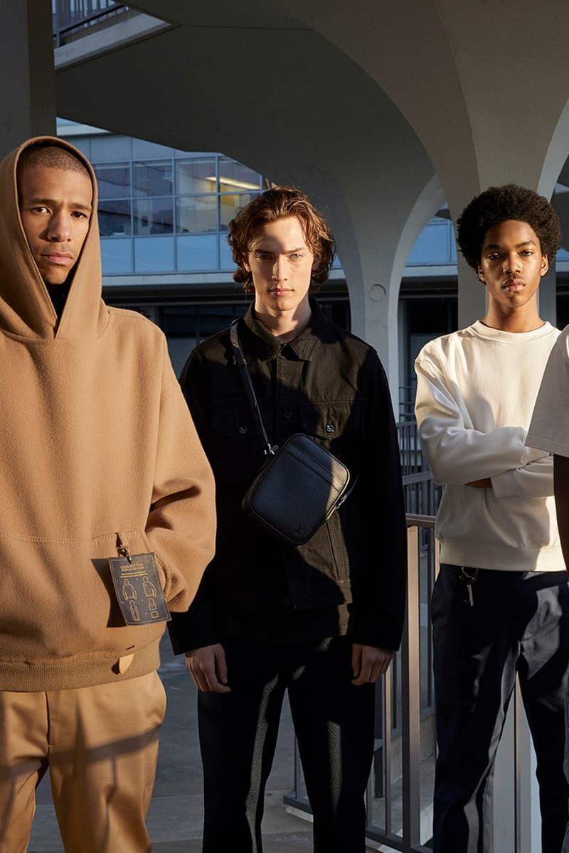 루이 비통의 새 남성복 라인, '스테이플스 에디션' 2019 프리 폴 캠페인 사진 보기
