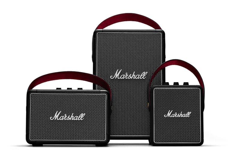 마샬, 휴대 가능한 초소형 블루투스 스피커 출시, Stockwell II, Tufton