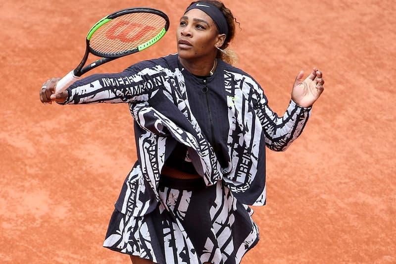 프랑스오픈 테니스대회, 세레나 윌리엄스 유니폼 나이키 x 버질 아블로