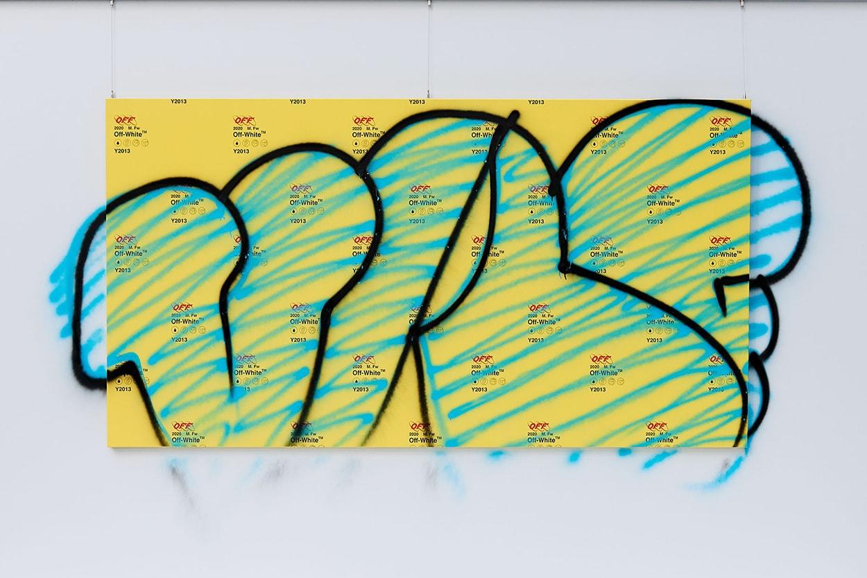 버질 아블로 스트리트스냅 오프 화이트 서울 방문 일러스트 이벤트, 대림창고 디제잉