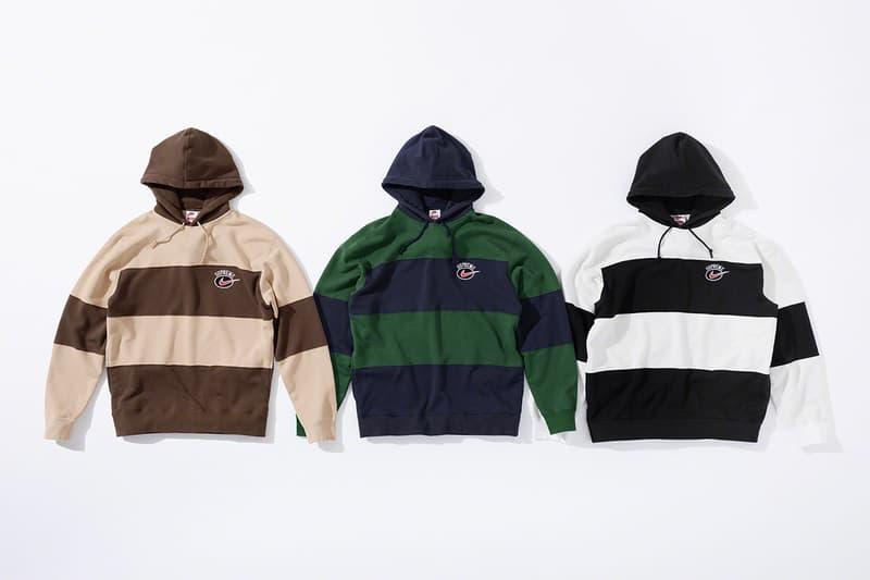 슈프림 나이키 2019 여름 나일론 재킷 후드 니트 스웨트팬츠 패니팩 전 제품군 발매 정보