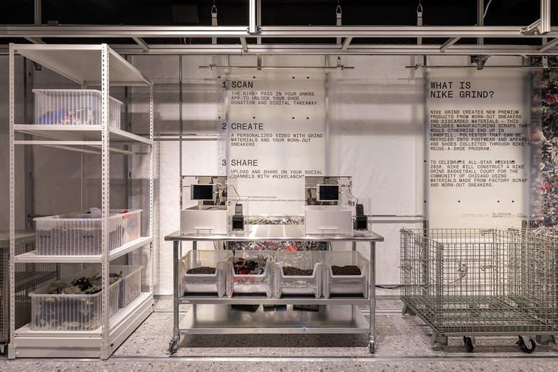 버질 아블로와 나이키랩이 선보이는 '리-크리에이션 센터'