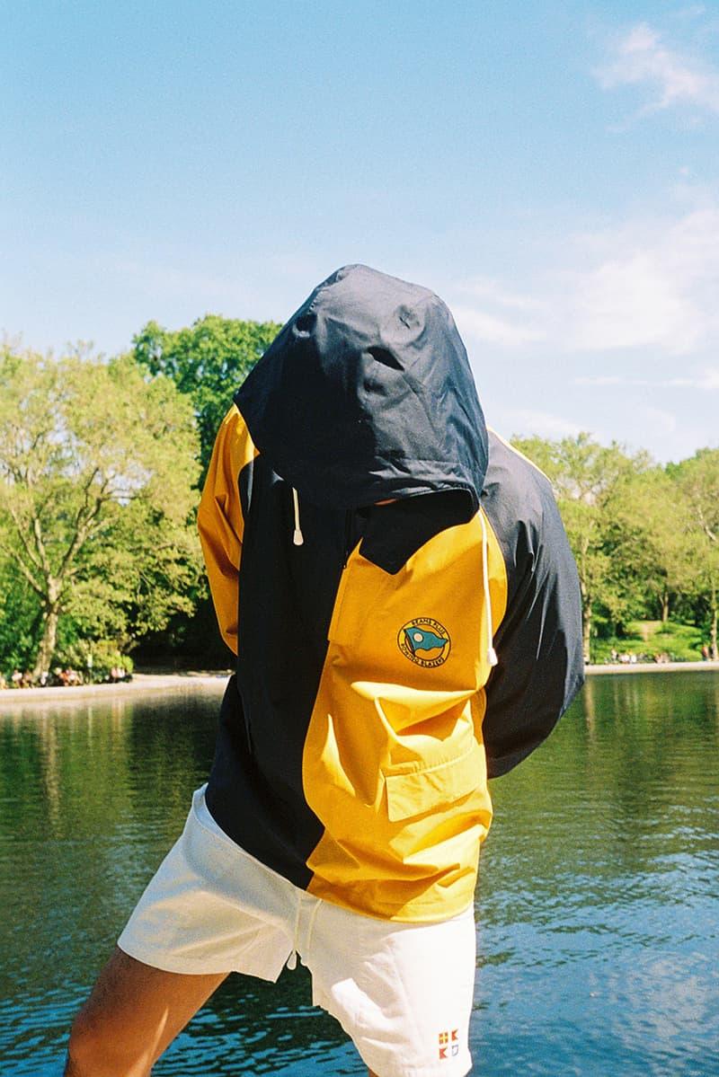 빔스 플러스 x 로잉 블레이저 협업의 2019 봄, 여름 캡슐 컬렉션 룩북