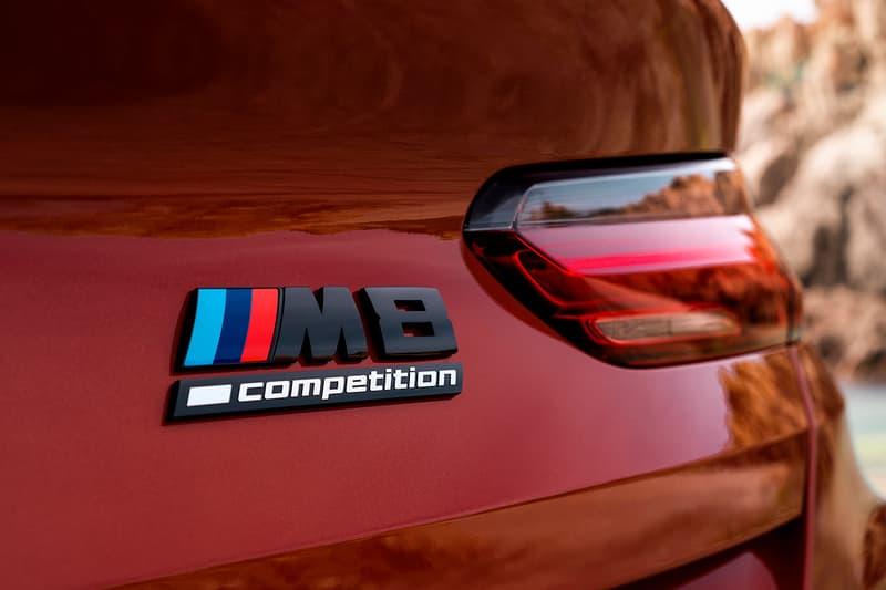 BMW M8 컴페티션 시리즈, 쿠페 및 컨버터블 공개