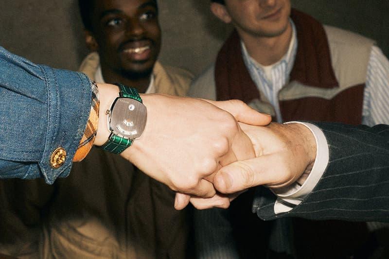 구찌 타임피스 컬렉션 캠페인, '더 그립' 과 'G- 타임리스' 시계