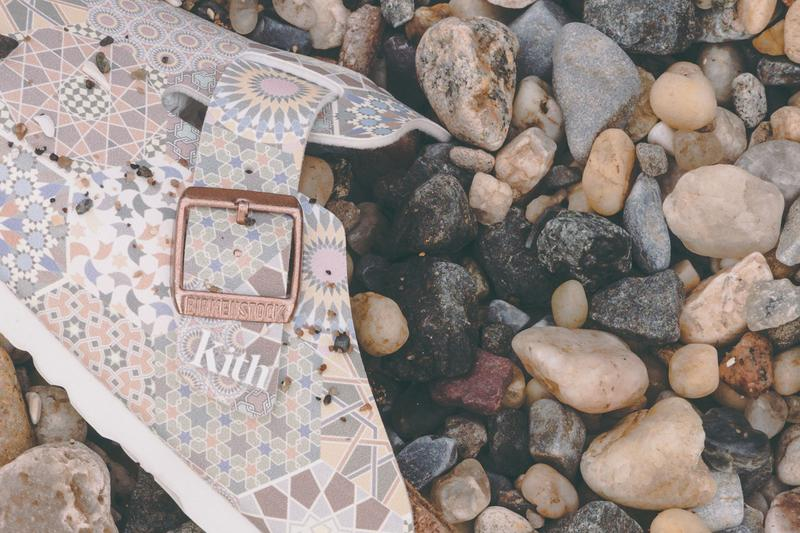 보스턴 아리조나 모델 키스 버켄스탁 샌들 협업 컬렉션 가격 판매처 발매 정보 여름 슬리퍼