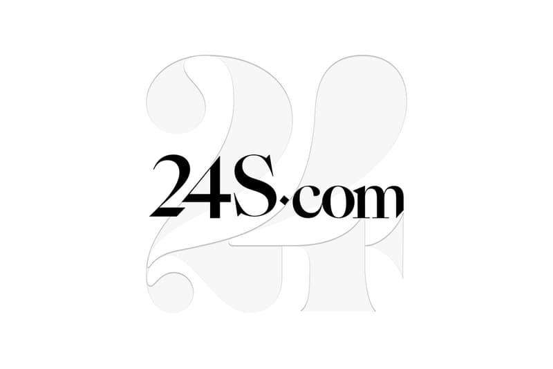 LVMH의 온라인 셀렉트 숍 24S 남성복 전개 시작