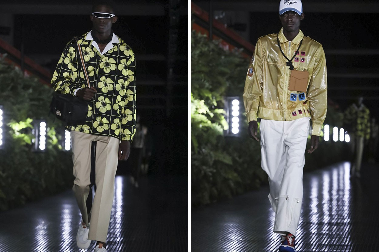 2020 봄, 여름 밀라노 남성 패션위크 베스트 컬렉션 팜 앤젤스 베르사체 펜디 필립 플레인 미쏘니