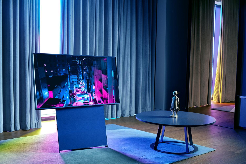 삼성, 세로 TV 'The Sero' 출시  samsung-the-sero-launching