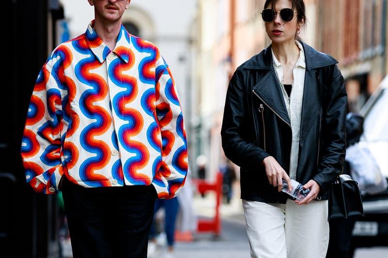 어 콜드 월, 베트멍 등 2020 봄, 여름 런던 패션위크 스트리트 스냅 스타일