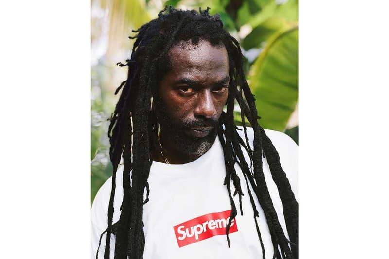 슈프림, 자메이카 레게 영웅 부주 밴턴과의 협업 예고하다
