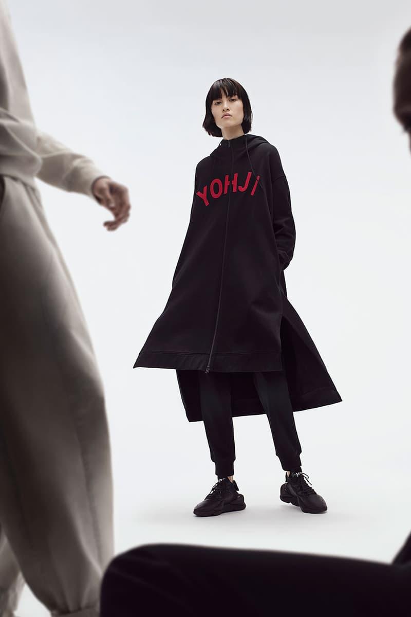 요지 야마모토와 아디다스 오리지널스의 Y-3, 2019 가을, 겨울 컬렉션 단독 공개, 유벤 로우 카이와