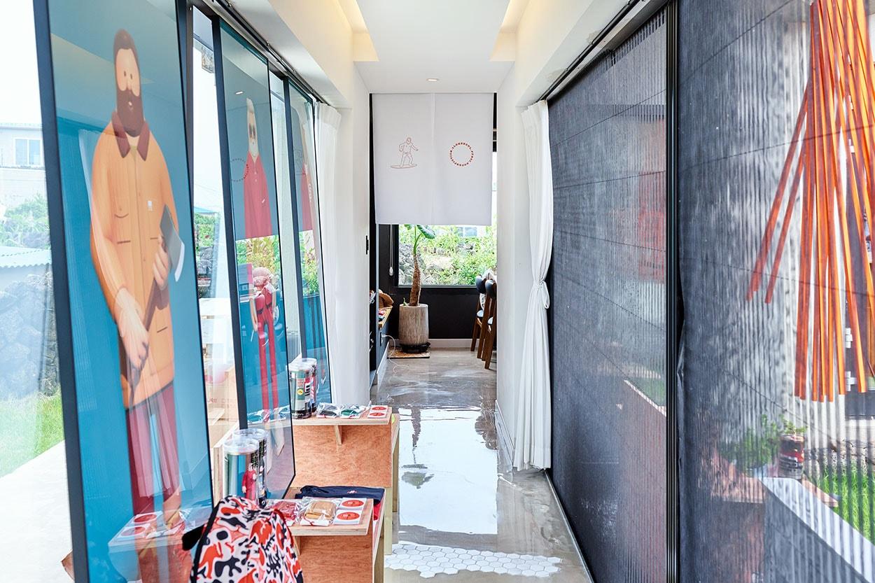 제주의 이색 팝업스토어, 1LDK x 슈퍼픽션 x 프루아 x 미수식당의 'HOLIDAY in JEJU' 한림, 협재, 45미터