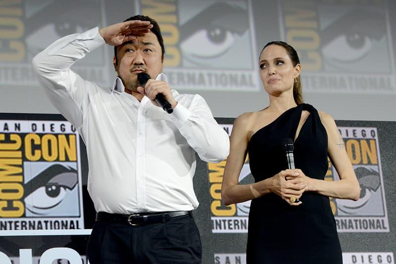 마동석, 마블 영화 '이터널스'에서 맡은 '길가메시'는 어떤 캐릭터? 안젤리나 졸리 2019 코믹콘
