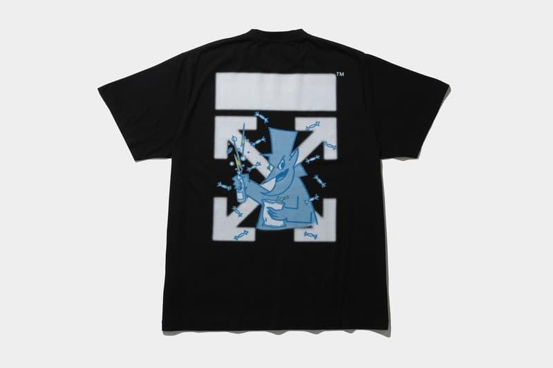 후지와라 히로시, 프라그먼트 디자인과 오프 화이트의 더 콘비니 협업 시리얼 티셔츠 발매 정보