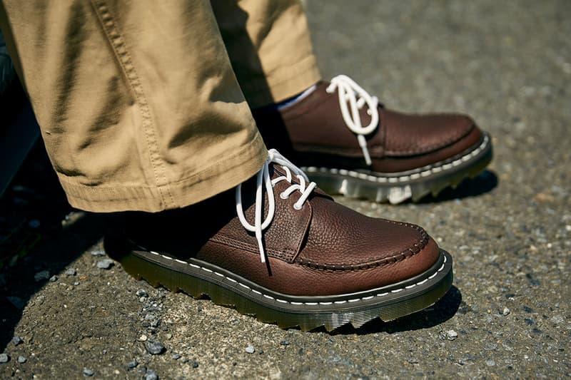 닥터 마틴 x 나나미카, '캠버웰' 신발 2종 상세 이미지 및 발매 정보