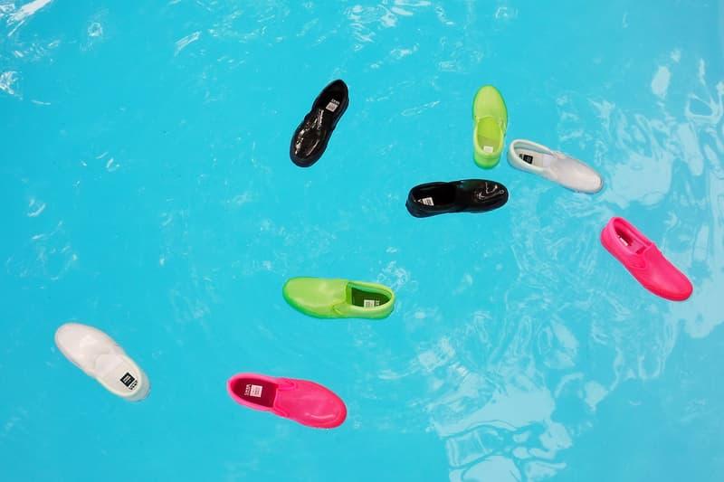 오프닝 세레모니 x 반스 협업의 투명한 PVC 클래식 슬립온 사진 및 발매 정보