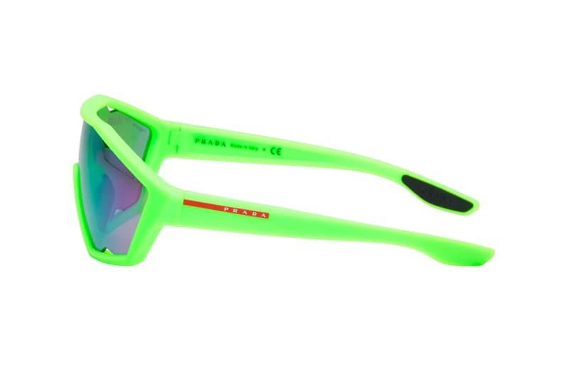 프라다의 2019 가을, 겨울 시즌 미러 렌즈 및 3종의 선글라스 판매처 및 가격