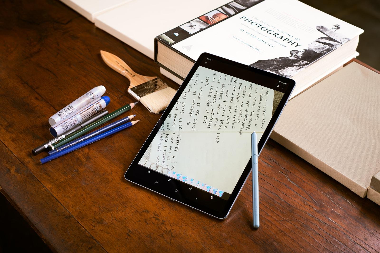 코코 카피탄, 갤럭시 탭 S6로 무한한 영감을 펼치다