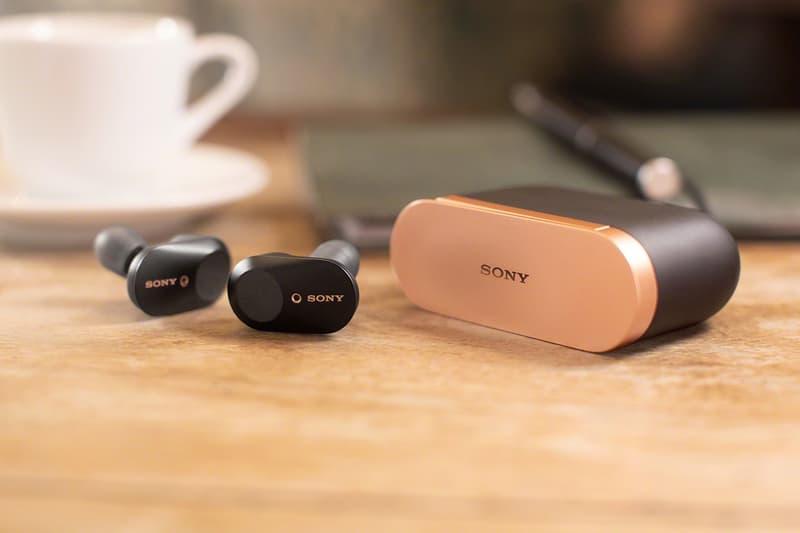 에어팟 대안 와이어리스 이어폰 소니의 새 노이즈 캔슬링 이어버드 WF-1000XM3