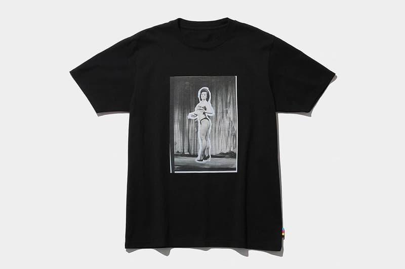 마메 쿠로고우치와의 협업으로 탄생한 더 콘비니의 티셔츠와 면봉  , 후지와라 히로시
