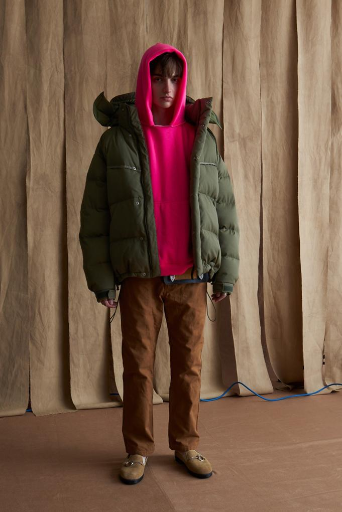 예스터데이즈 투모로우(YSTRDY'S TMRRW)의 2019 가을, 겨울 컬렉션 룩북