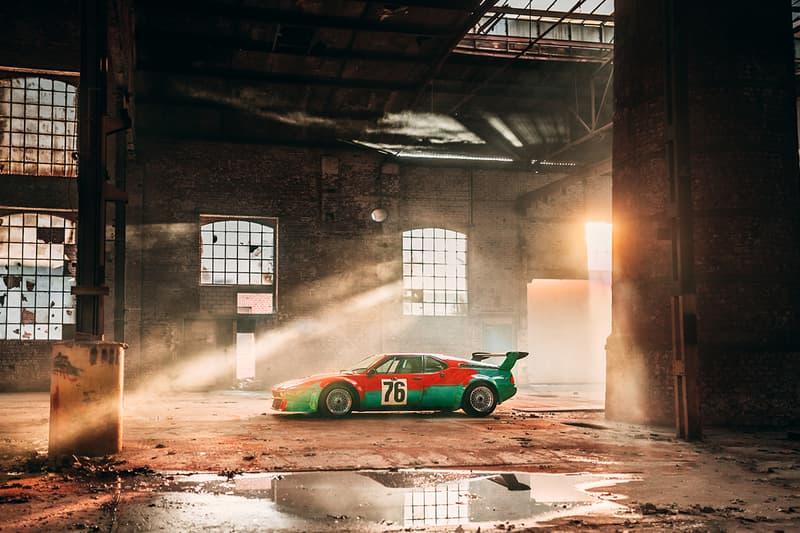 전설의 앤디워홀 x BMW의 M1 아트카, 탄생 40주년 맞아 사진 공개하다