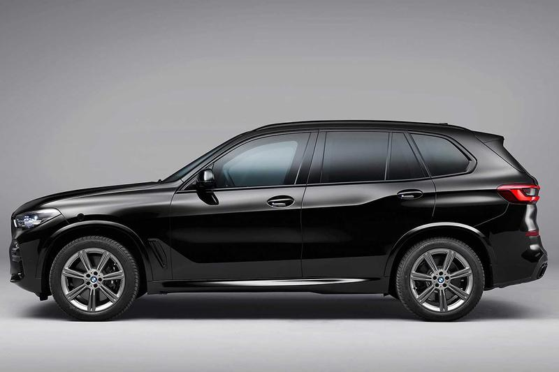BMW 방탄 기능 추가된 'X5 프로텍션 VR6' 출시, 반타 블랙 X6 SUV