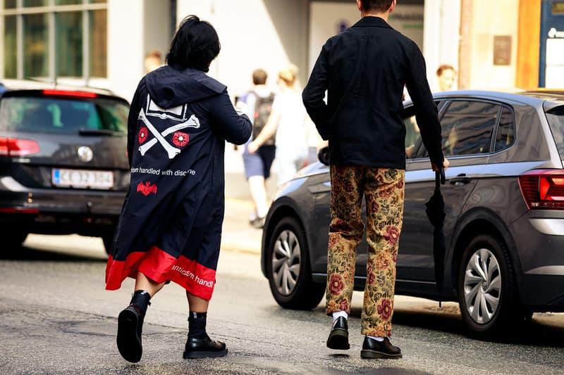 2020 봄, 여름 코펜하겐 패션위크 스트리트 스냅 스타일, 구찌, 디올, 프라다, 나이키, 오프 화이트