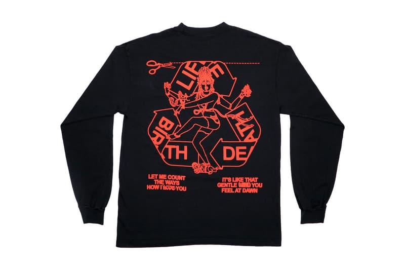 노 베이컨시 인의 데님 티어스 x 온라인 세라믹스 협업 티셔츠 2종 공개