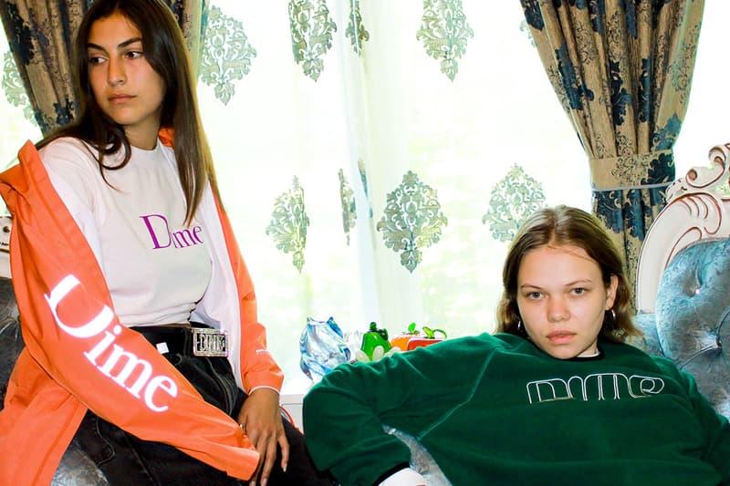 티셔츠, 재킷, 후디 포함 등 다임의 2019 가을 컬렉션 룩북
