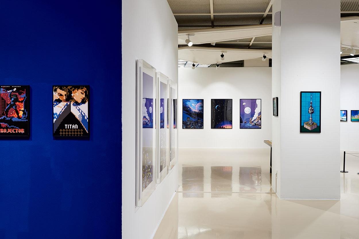 픽셀 아티스트 주재범 인터뷰 전시 'PICK X CELL' 에비뉴엘 아트홀