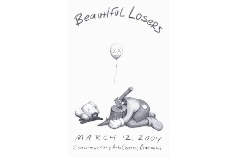 카우스 2004년 포스터 'Beautiful Losers' 조나단 레빈 프로젝트 판매