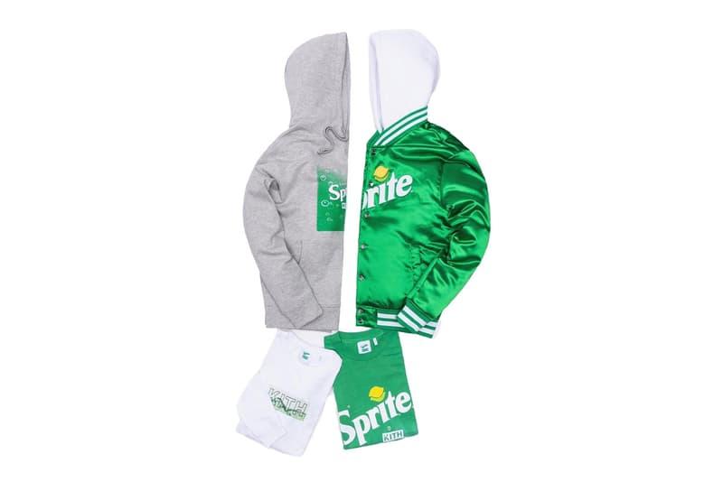 키스 x 스프라이트 협업 컬렉션 출시, 코카콜라, 로니 피그, 후디, 티셔츠, KITH
