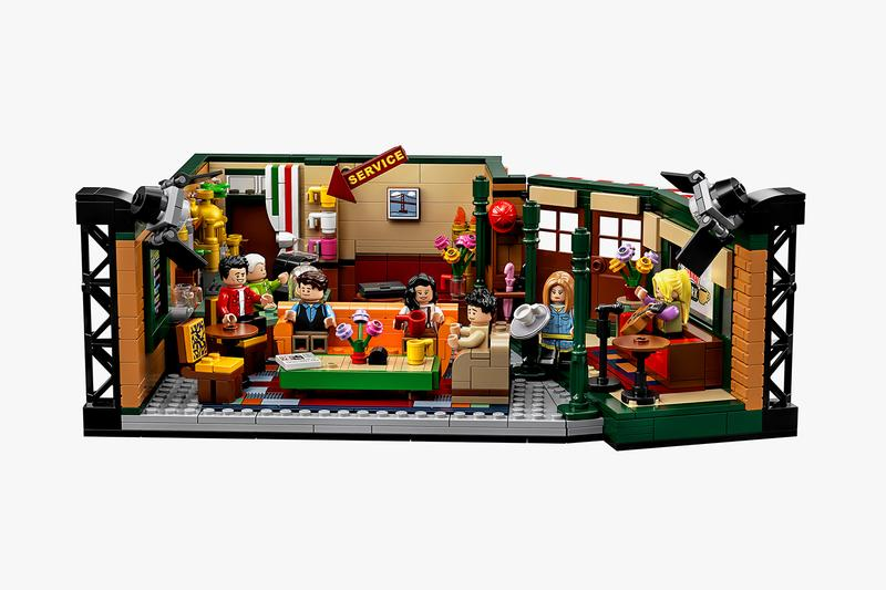 레고, 시트콤 '프렌즈' 25주년 기념 센트럴 퍼크 컬렉션 출시, 조이, 피비, 레이첼, 로스, 모니카, 챈들러