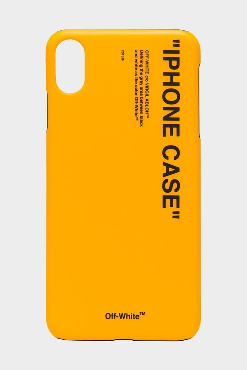 """오프 화이트의 스마트폰 케이스 """"IPHONE CASE"""" 구매 좌표, 아이폰"""