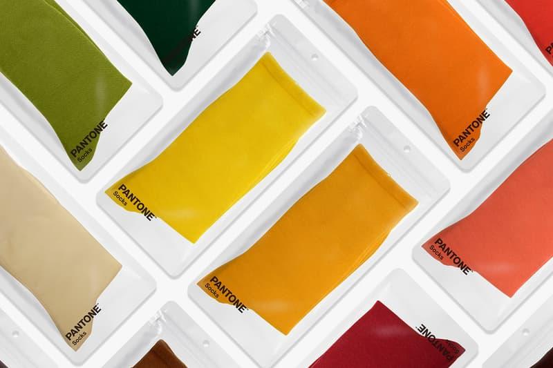 팬톤 삭스, 첫 국내 론칭 및 31가지 컬러의 양말 발매 정보