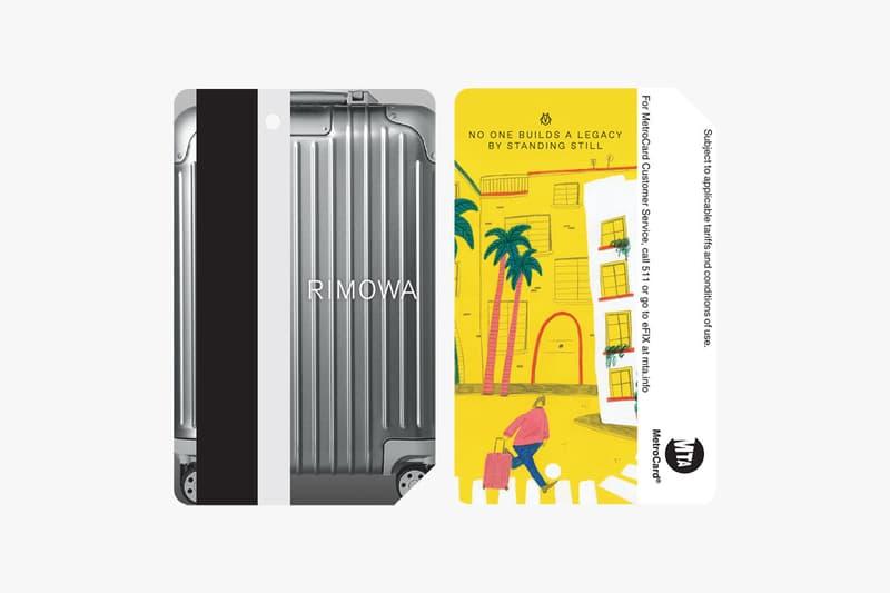 리모와의 'Never Still'캠페인, 한정판 뉴욕 교통카드 판매처