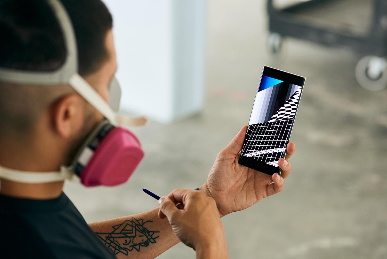 펠리페 판토네, 삼성 갤럭시 노트10으로 빛과 색을 창조하다